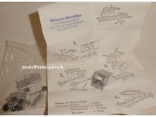 Wimmer Modellbau 401 H0 Bausatz Draisine mit Flachlore OHNE Motor , neu , OVP