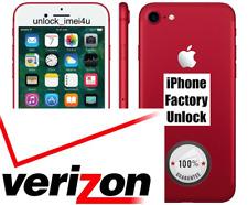 VERIZON IPHONE 7/7+/6S/6S+/6/6+/5S/5C/5 PREMIUM FACTORY UNLOCK SERVICE ALL IMEI