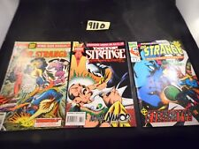 Doctor Strange lot of 3 books #54 #65 and King-Size Annual #1 Marvel Comics