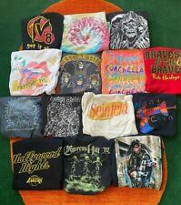 New ListingVintage Style Wholesale 14 T shirt Lot 00s Bundle Reprint Rolling Stones