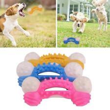 Dog Aggressive Chewer Toys Indestructible Dog Toys Tough Rubber Bone Toy