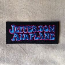 JEFFERSON AIRPLANE ROCK BAND HEAVY METAL MUSIC EMBROIDERY IRON ON PATCH BADGE