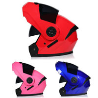 DOT Flip Up Motorcycle Helmet Modular Helmet Full Face Smoke Dual Visor S/M/L/XL