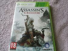 Assassins Creed 3,twin discs,X Box 360 game ,cleaned+tested,fast post :)