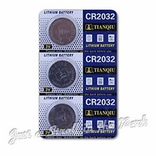 3 CR2032 DL2032 CMOS Lithium 3V NEW Watch Battery Exp 2017 Ships FREE from USA!