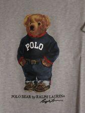 Polo Ralph Lauren LIMITED EDITION Polo Bear Tshirt NWT Sweater Bear Grey Heather