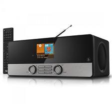 Hama Digitalradio DIR3100M WLAN APP Internetradio Multiroom Farbdisplay Schwarz