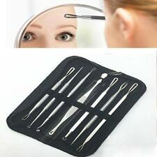 7pcs Blackhead Whitehead Extractor Tool for ACNE Blemish Zit Pimple Removal