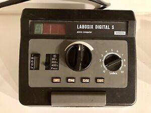 Gossen Labosix Digital S Microcomputer Fotolabor Belichtungzeitschaltuhr Timer
