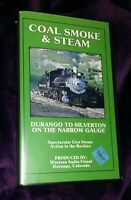 Steam Coal Railroad Train Narrow Gage Colorado Durango Silverton Video VHS Tape