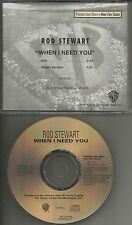 ROD STEWART When I need you w/ RARE EDIT PROMO Radio DJ CD Single 1996 PROCD8508