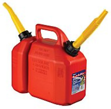 NEW 03615 (J63) - Scepter Fuel Can Combo Plastic 6L / 2.5L