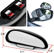 2Pcs Adjustable Angle Auto Car Rear Side View Blind-spot Vision Rearview Mirrors