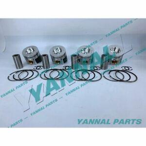 New Hino J05 J05E Piston & Rings ( 4 PCS )