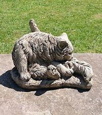 Dragonstone Washing Cat Statue