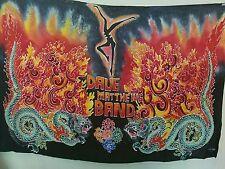 DAVE MATTHEWS BAND Fire Dancer DRAGON Logo Concert Poster Banner Tapestry /500