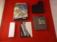 Teenage Mutant Ninja Turtles I (Nintendo Entertainment System NES 1989) COMPLETE