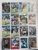 Jacksonville Jaguars Football Card Lot Gardner Minshew DJ Chark James Robinson