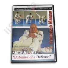 Kioto Brazilian Jiu Jitsu Mma Submissions #2 Dvd Master Francisco Mansur New!