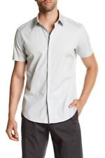 NWT Theory Sylvain Wealth Short Sleeve Button Down Shirt