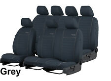 VOLKSWAGEN CRAFTER DOUBLE CAB 7 SEATER 2017 ONWARDS FABRIC TAILORED SEAT COVERS