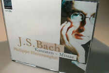 bach kantaten missae philippe herreweghe 4 cd box set