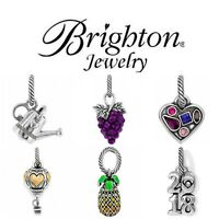 Brighton Jewelry Charms New & Retired Fine Silver Plate Swarovski