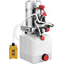 4L Hydraulikaggregat, Hydraulik Pumpe 12 V Pumpe Kunststoff Anhänger