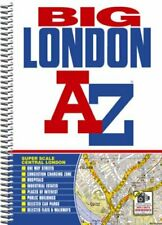 Big London Street Atlas (London Street A. by Geographers A-Z Map Spiral bound