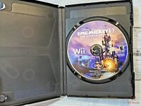 Disney Epic Mickey 2: The Power of Two (Nintendo Wii, 2012 game only