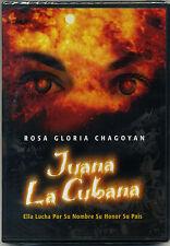 """JUANA LA CUBANA"" NEW DVD * Rosa Gloria Chagoyan * Original Film from 1994"