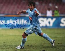 Ezequiel Lavezzi Napoli Soccer Signed 8x10 Photo Coa!