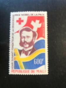 Mali 1977 Einzelmarke Rotes Kreuz Henri Dunant Nobelpreis Frieden 1901 MNH