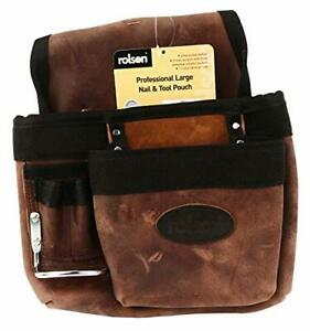 68862 Leather Single Tool Pouch