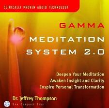 Gamma Meditation System by Dr. Jeffrey Thompson [CD New]