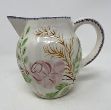 Blue Ridge China Southern Potteries Party Goer Grace Pitcher Pink Roses Lavender