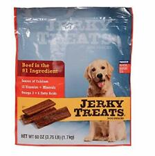 Jerky Treats Tender Beef Strips Dog Snacks 60 Oz