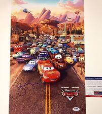JOHN RATZENBERGER Signed Disney Pixar 11x17 Movie Poster Photo ~ PSA/DNA COA