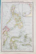 Map of Philippine Islands. 1905. PACIFIC. ASIA. Original