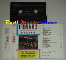 MC CELEBRI MARCE 1991 1 stampa italy MUSIC MARKET MMK 6019 cd lp dvd vhs