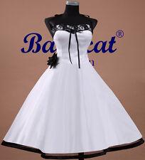 50er ans robe de bal mariée rétro vintage MARIAGE JUPON immédiatement AC103 40