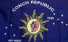 KEY WEST CONCH REP COUNTRY   3' x 5'  Polyester Banner Flag
