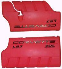 2005-2008 Chevrolet Corvette LS7 7.0 Fuel Rail Covers GM # 12574619 & 12574620