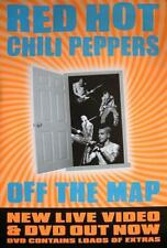 """Red Hot Chili Peppers POSTER """"Off the Map"""""""
