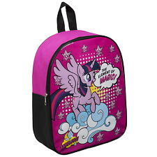 NEW OFFICIAL My Little Pony Twilight Sparkle Kids Backpack Rucksack School Bag