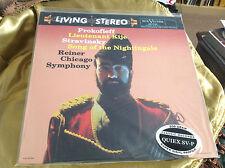 "PROKOFIEFF STRAVINSKY ""NIGHTINGALE"" CHICAGO SYMPHONY REINER VINYL LP 200 GRAM"