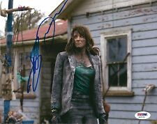 LUCY LAWLESS AUTOGRAPHED SIGNED 8x10 PHOTO PSA/DNA COA ASH vs EVIL DEAD