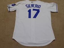Luis Silverio Game Worn Jersey 2010 Kansas City Royals