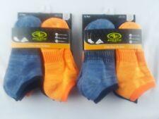 New Athletic Works 12 Pair Boys No Show Socks L (3-9)