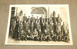 """Vintage (WWII? Korea?) US Army Unit 5x7"""" Untitled B&W Photo - Paratroopers Maybe"""